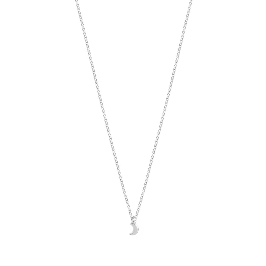 Lumen Necklace Silver-1