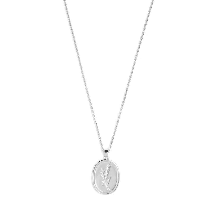 Bloom Necklace Silver-1