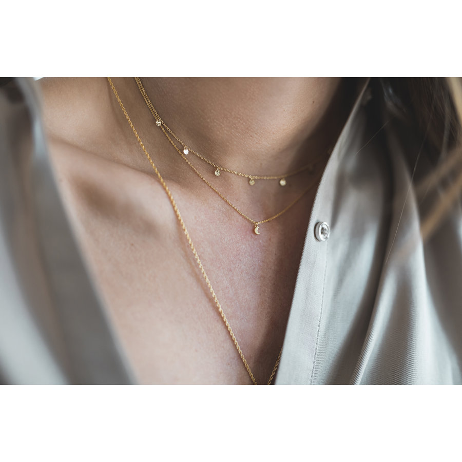 Lumen Necklace Gold Plated-2