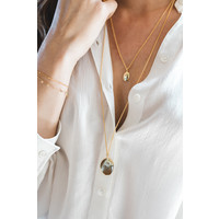 thumb-Connect Necklace Gold Plated-2