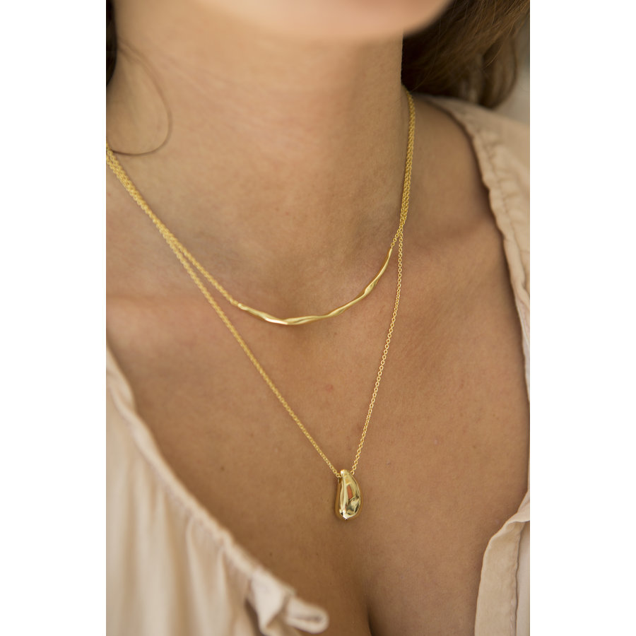 Breeze Necklace Goldplated-2