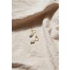 Perle Hoops Goldplated