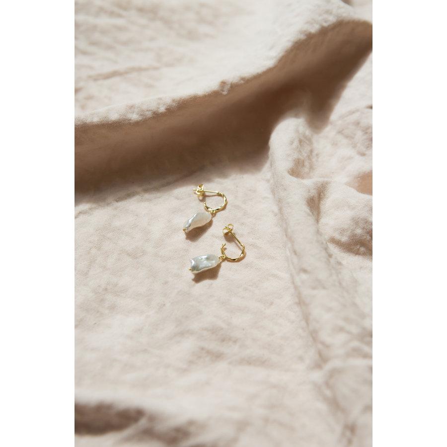 Perle Hoops Goldplated-1