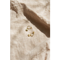 thumb-Paradise Hoops Goldplated-1