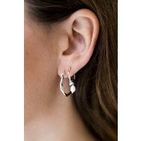 thumb-Neptune Hoops Silverplated-2
