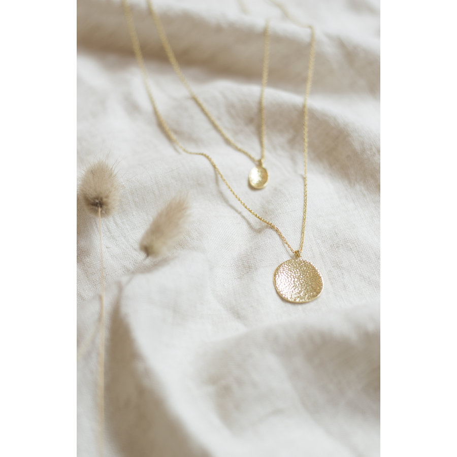 Connect Necklace Gold Plated-3