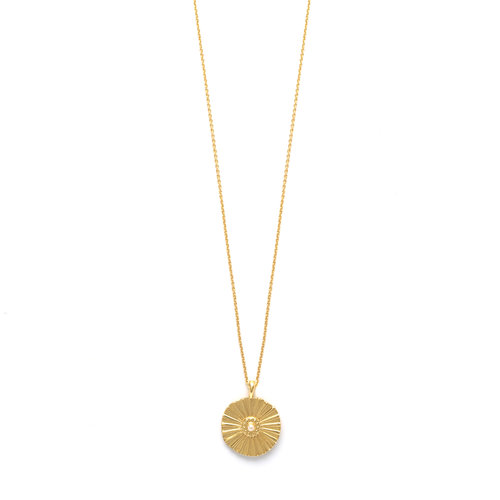 Flow Necklace Goldplated