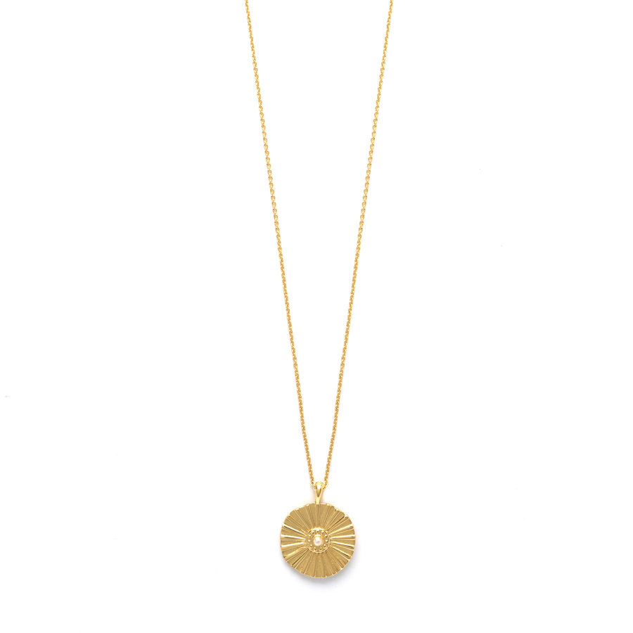 Flow Necklace Goldplated-1