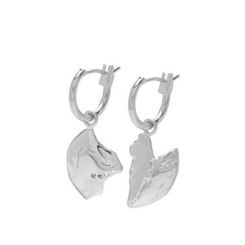 Reflect Hoops Silver