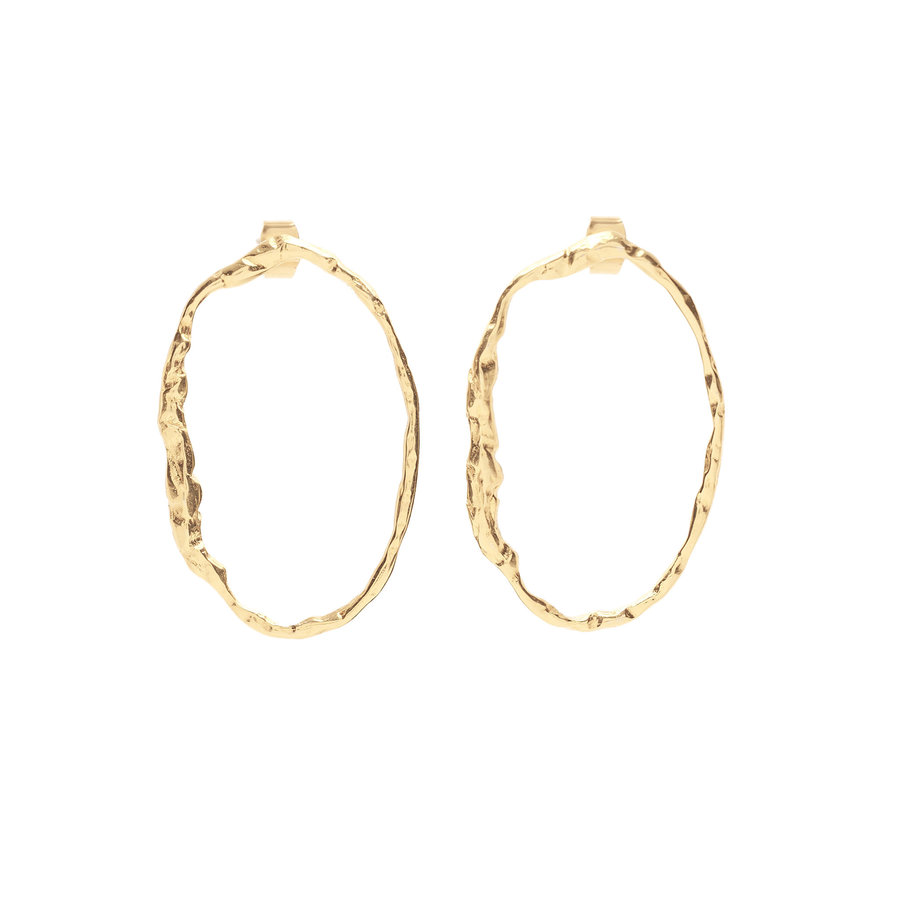 Muse Earrings Gold Plated-1