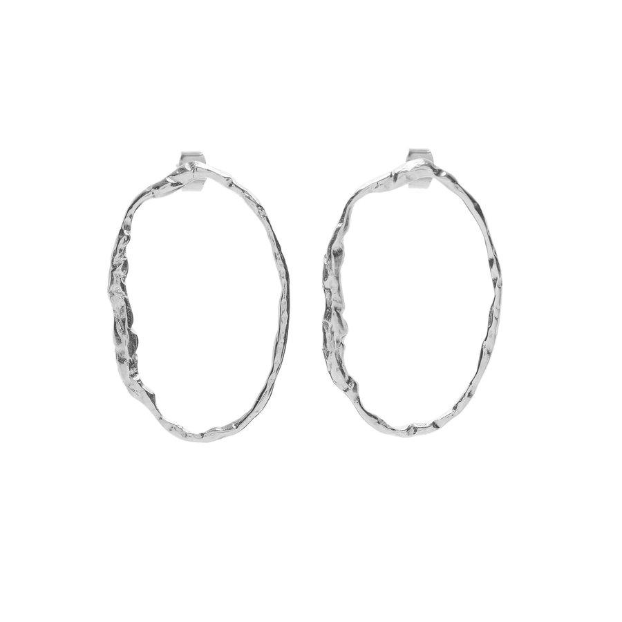Muse Earrings Silver-1