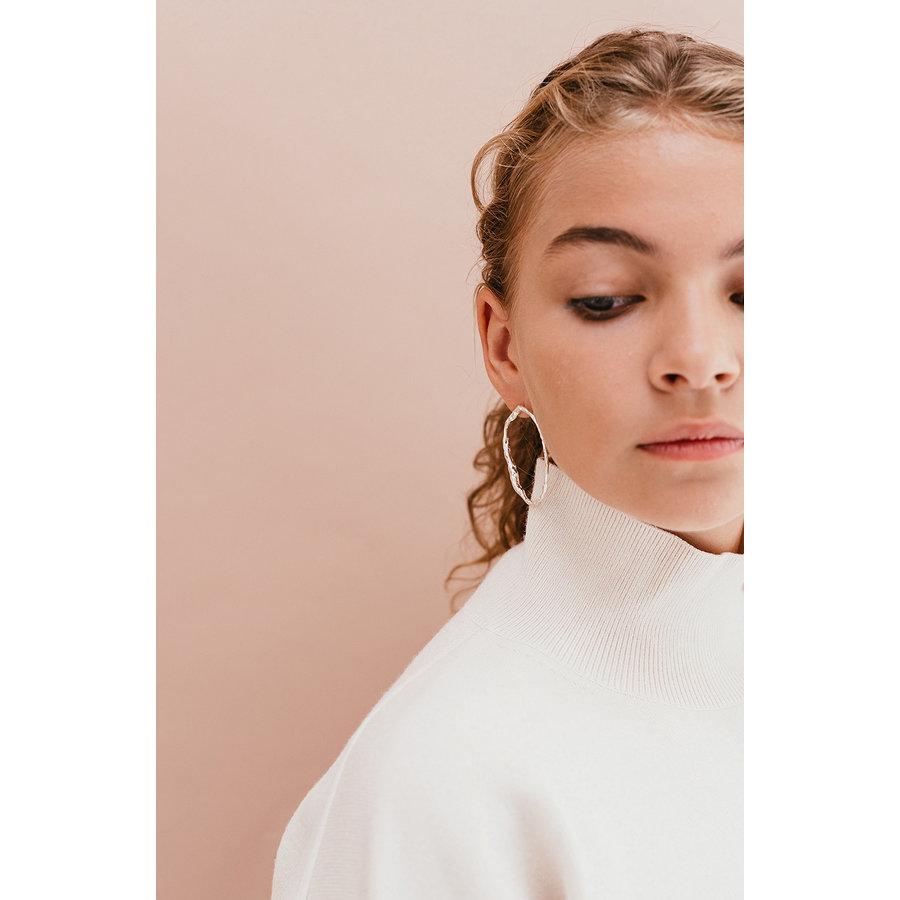 Muse Earrings Silver-2