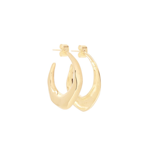 Loving Hoops Gold Plated