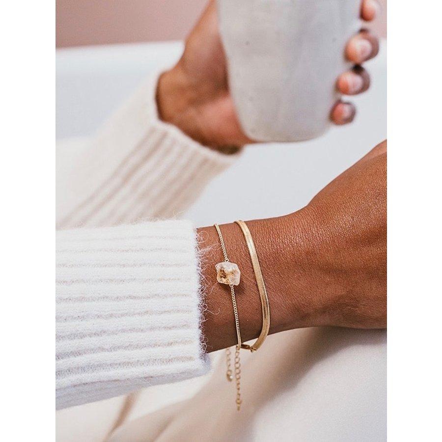 Solar Bracelet Gold Plated-2