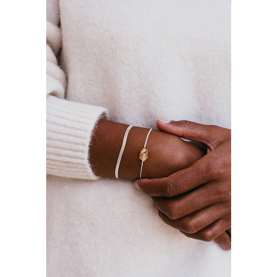 Solar Bracelet Silver-2