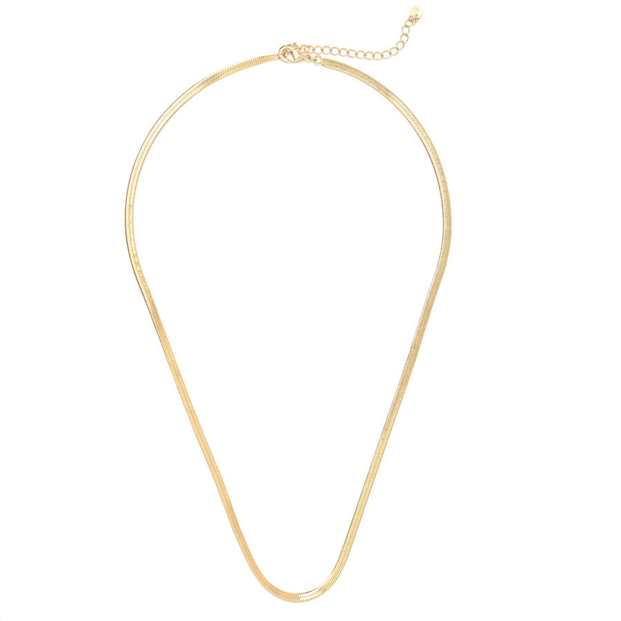 Elegance Necklace Gold Plated-1
