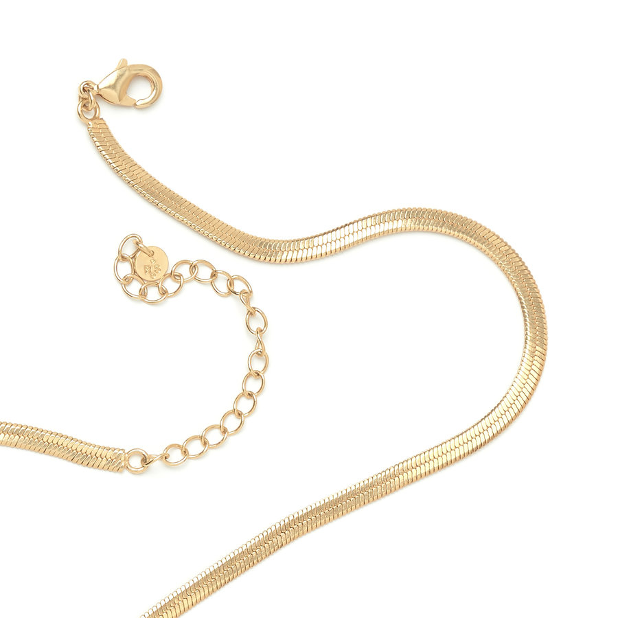 Elegance Necklace Gold Plated-3