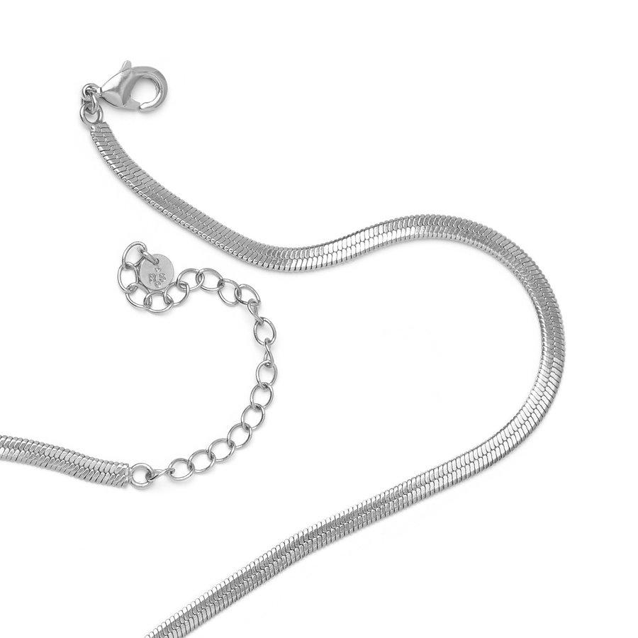 Elegance Necklace Silver-2