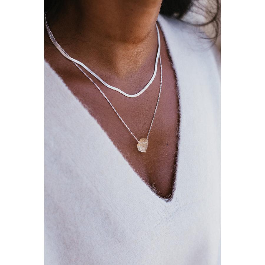 Elegance Necklace Silver-3