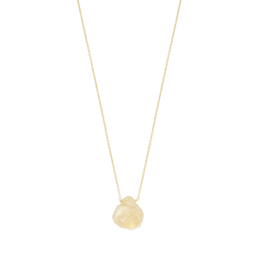 Beam Necklace Gold Plated-1