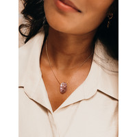thumb-Calm Necklace Gold Plated-2