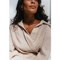 thumb-Calm Necklace Gold Plated-3