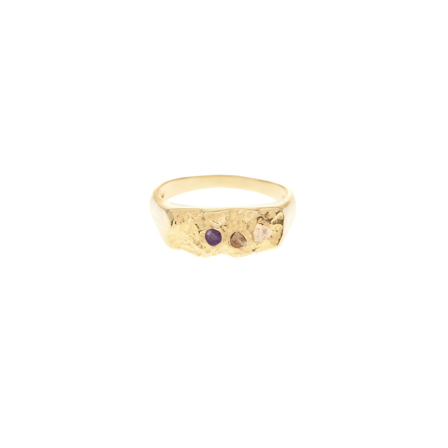 Mount Ring Gold Plated-3