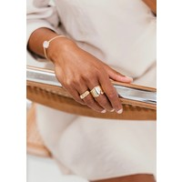 thumb-Mount Ring Gold Plated-4