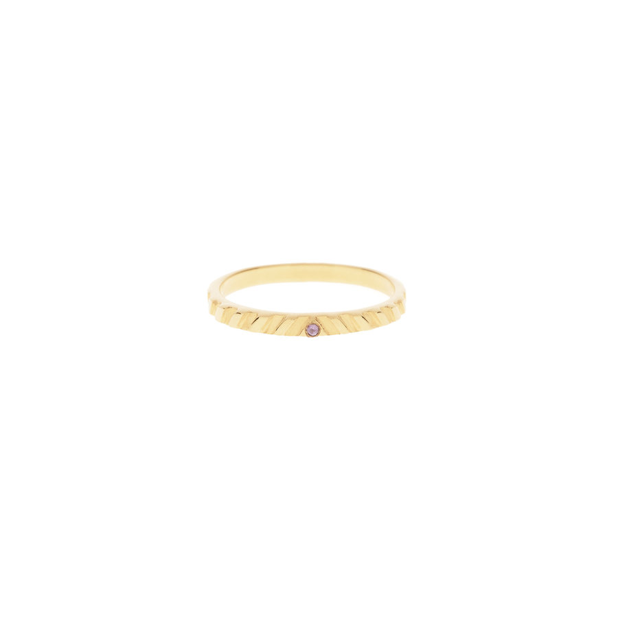 Peak Ring Gold Plated-1