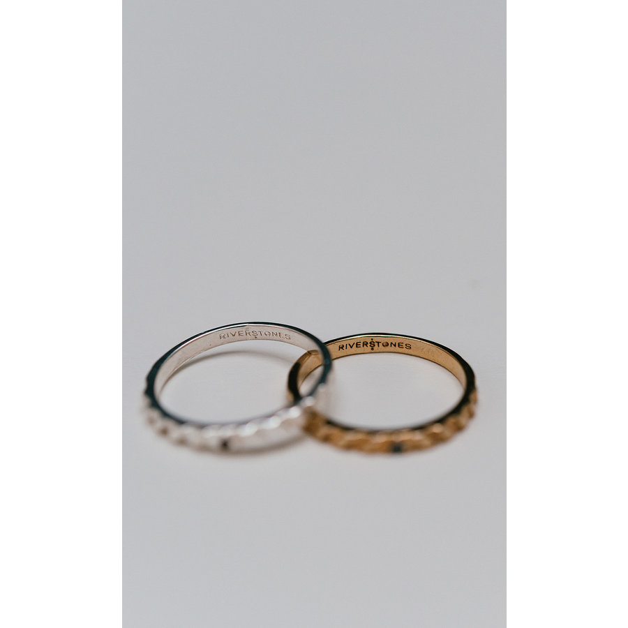 Peak Ring Gold Plated-3