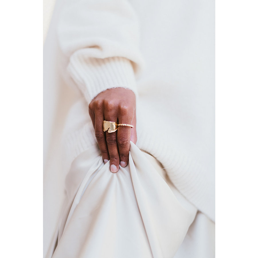 Peak Ring Gold Plated-4