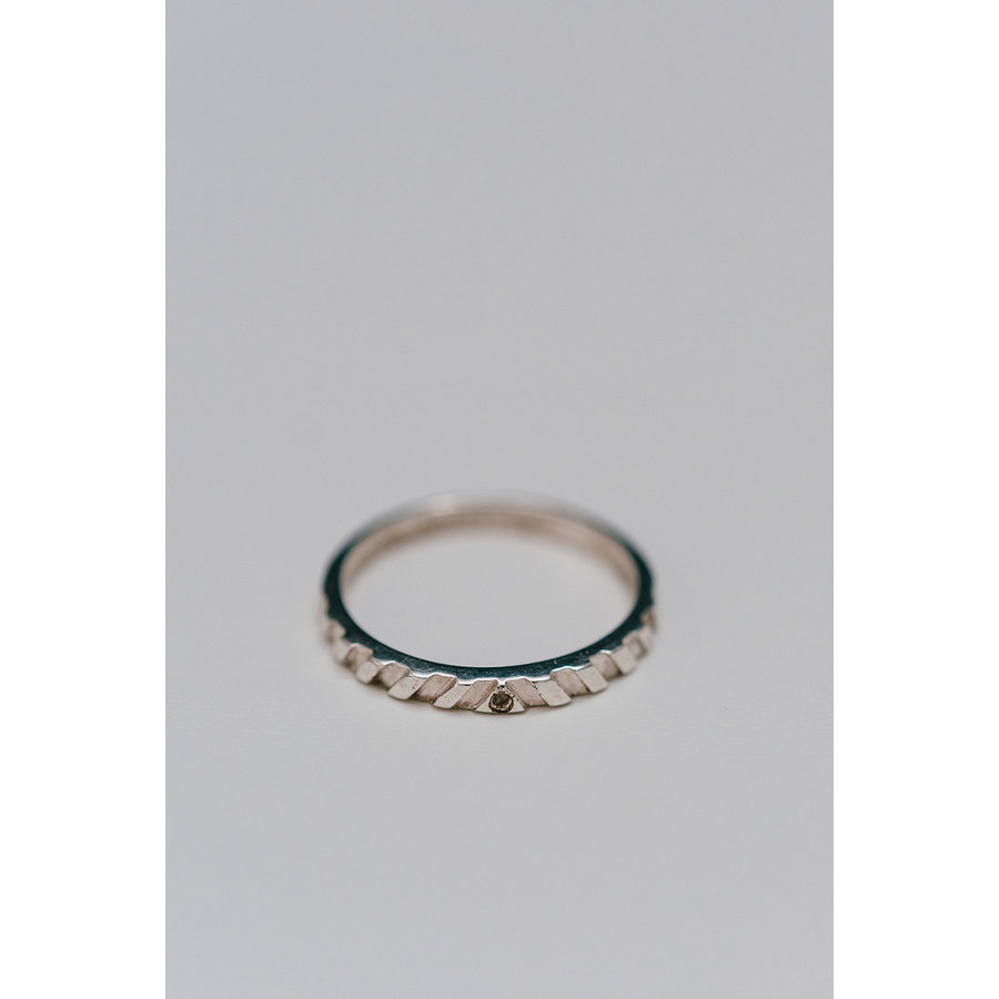 Peak Ring Zilver-2