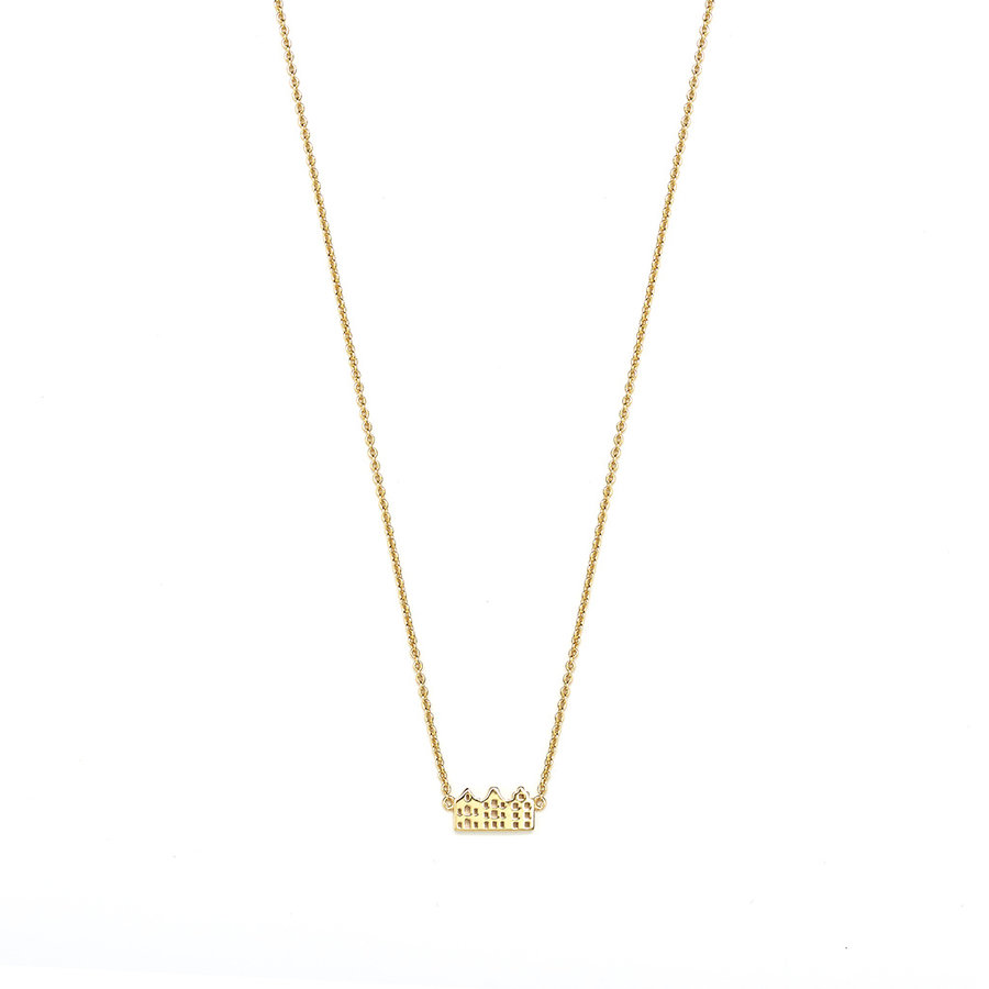Canal Necklace 14k Responsible Gold-4