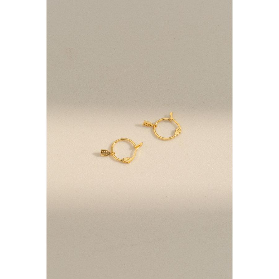Jordaan Hoops 14k Responsible Gold-1