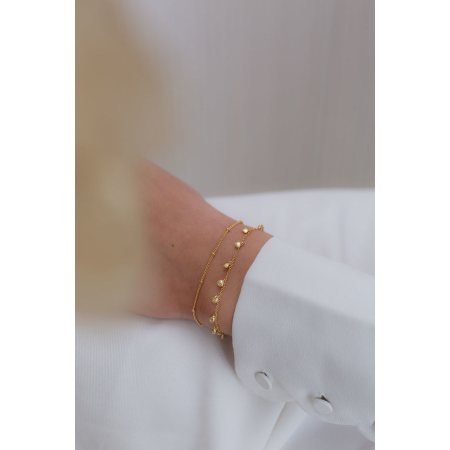 Balance Bracelet Gold Plated-2