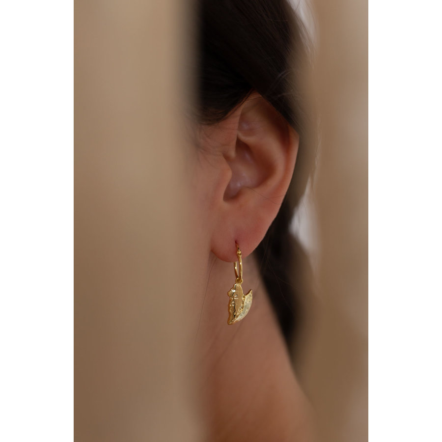 Reflect Hoops Gold Plated-2
