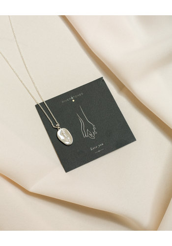 Adored Ketting Zilver