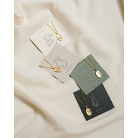 thumb-Care Necklace Gold Plated-3