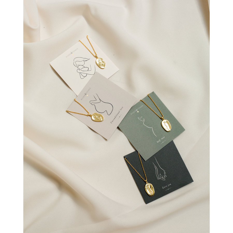 Care Necklace Gold Plated-3