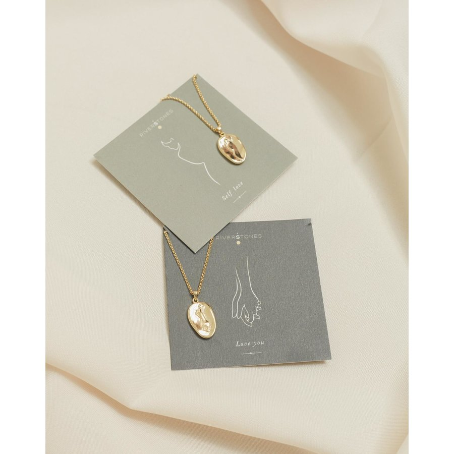 Adored Necklace Gold Plated-5