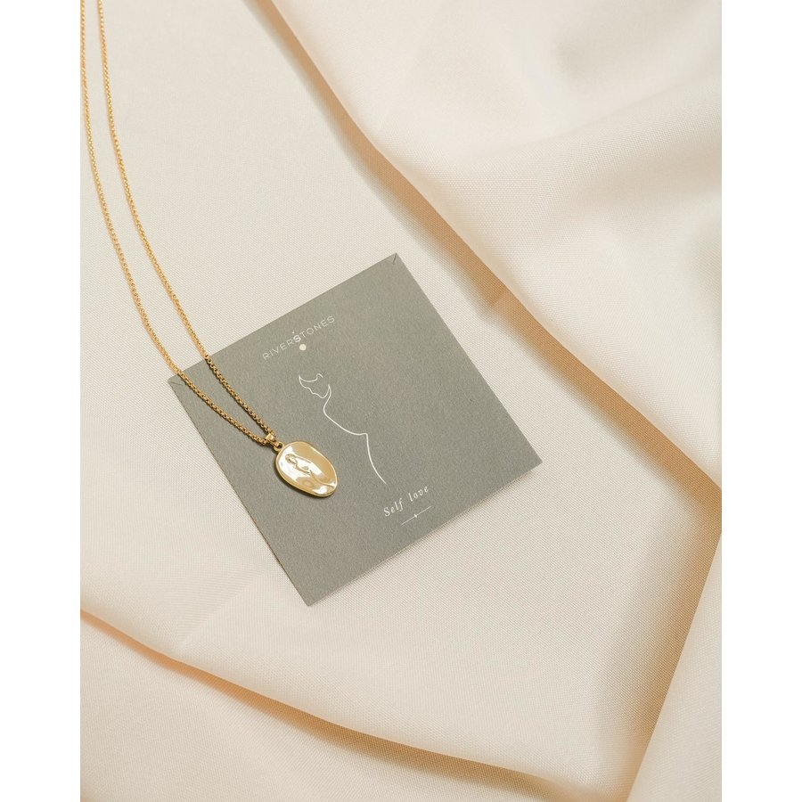 Care Necklace Gold Plated-4