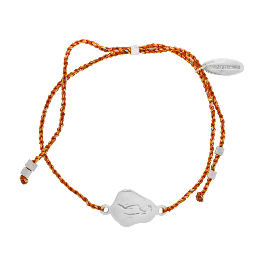 Care Bracelet Recycled Silver-1