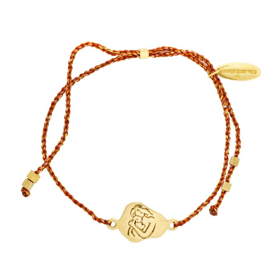 Cherish Bracelet Gold Plated-2