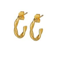 thumb-Allay Hoops Gold Plated-1