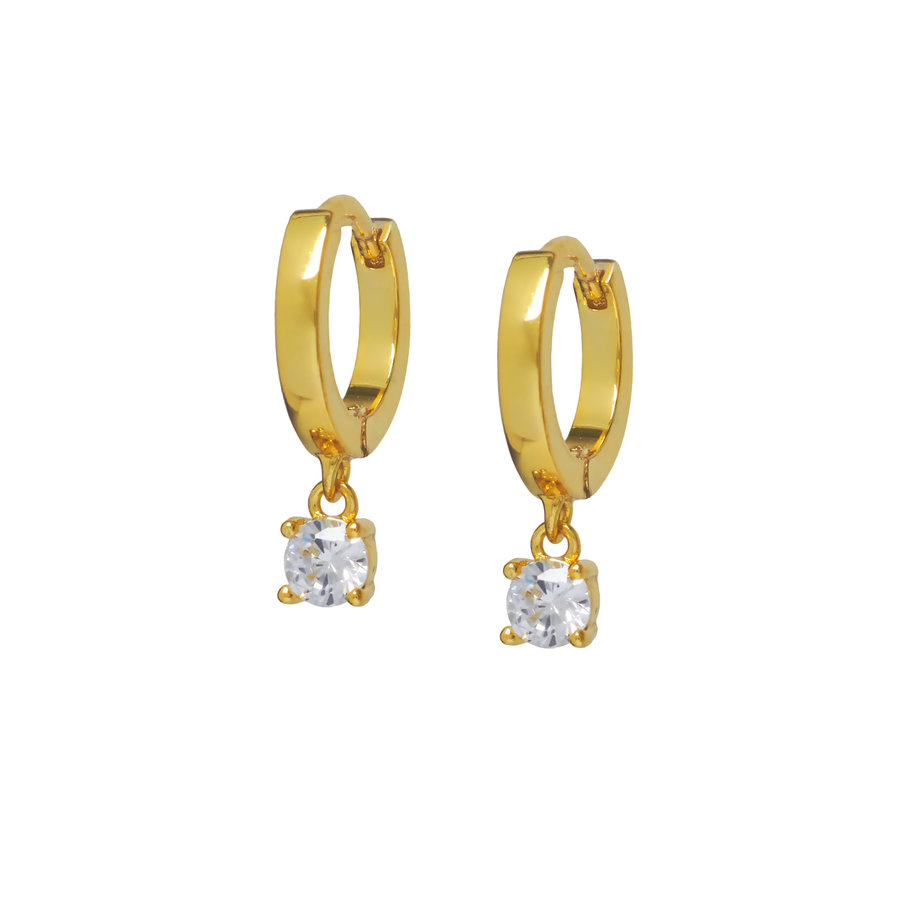 Glow Hoops Gold Plated-1