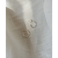 thumb-Allay Hoops Silver Plated-3