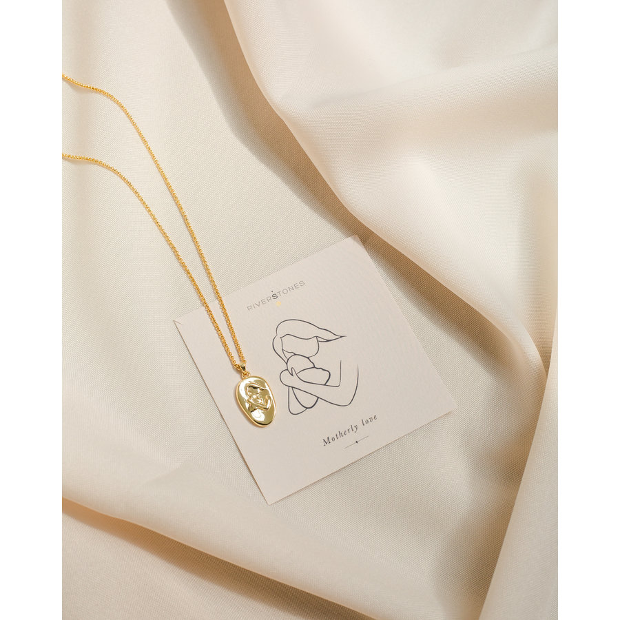 Cherish Necklace Gold Plated-1