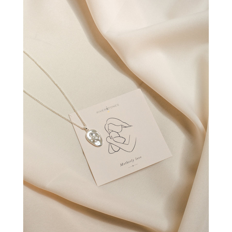 Cherish Necklace Silver-1