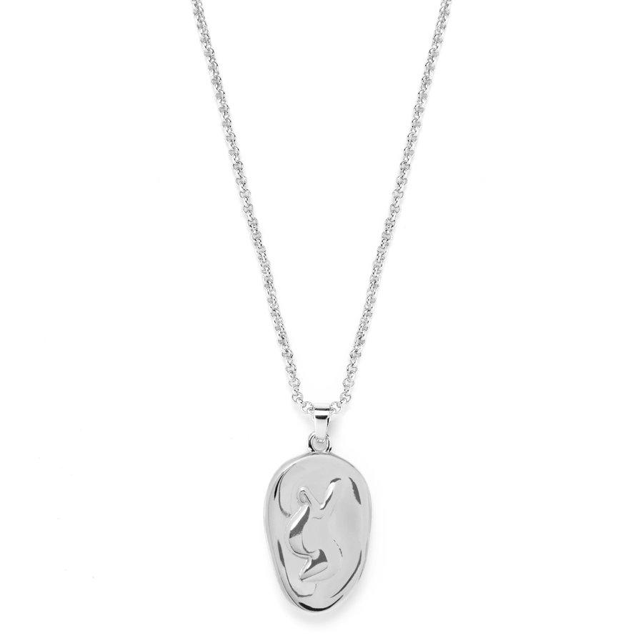 Beloved Necklace Silver-2