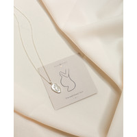 thumb-Beloved Necklace Silver-1